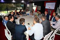 "Meeting of the ""Tourism, natural and cultural heritage"" commission - Vlora (Albania), 08/10/2015. (Agrandir l'image)."